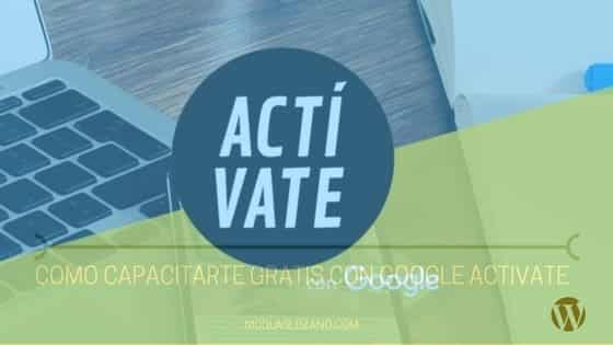 Google Activate – Cursos Gratuitos