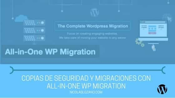 all in one wp migrator