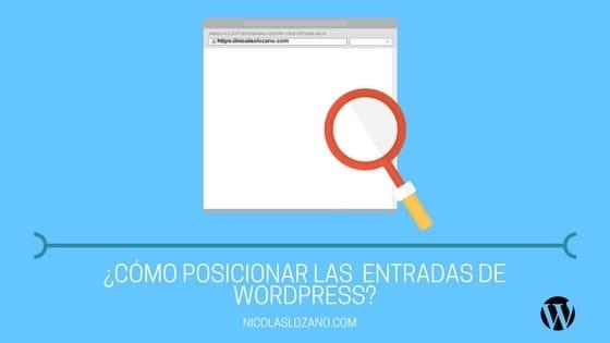 SEO para entradas de WordPress