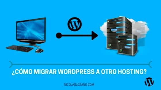 como migrar wordpress